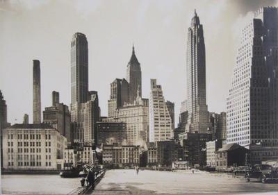 Manhattan From Pier 11
