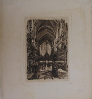 Untitled (Cathedral Interior)