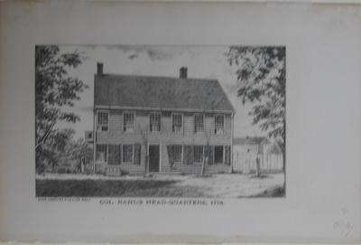 Col. Rawle's Headquarters 1776