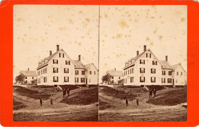 Untitled (View of the Atlantic House, South Street, Rockland, Maine)