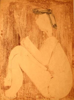 Seated Girl Nude
