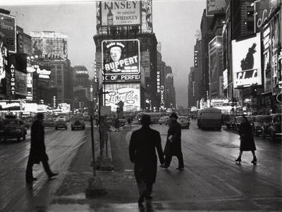 Times Square, Dusk, New York