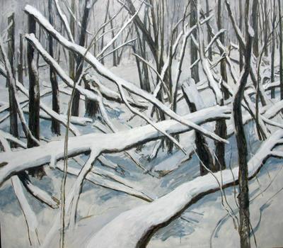 Damaged Woods II
