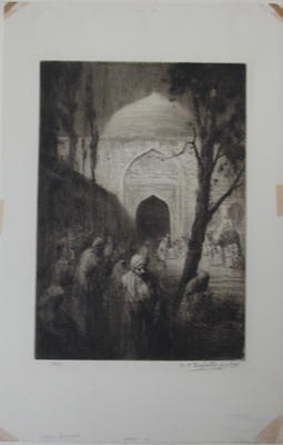 Mosque Eventide