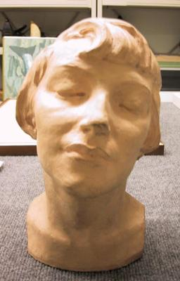 Untitled (Head portrait of girl)