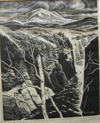 Mt. Katahdin - From Ripogenus Gorge