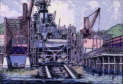 Destroyer Lamson, Bath Iron Works