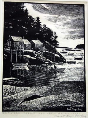 Between Forest and Sea, Maine Coast