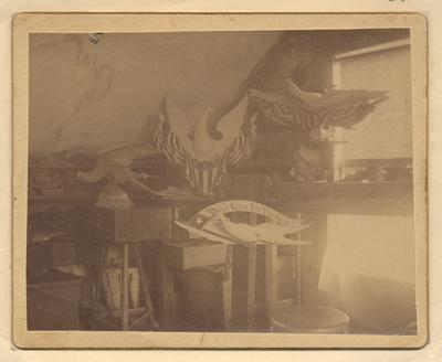 John Haley Bellamy's Work Bench