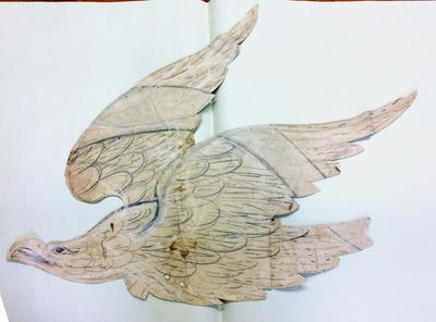 Pattern for eagle in flight