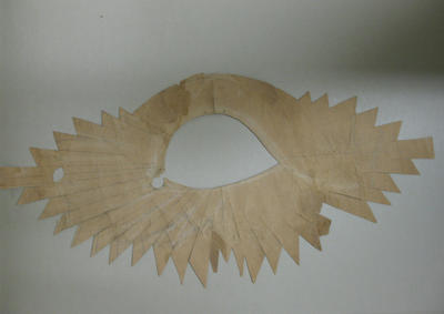 Pattern for feather scroll
