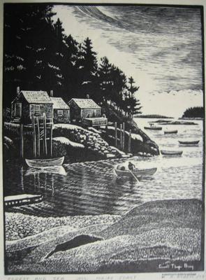 Forest and Sea ~ Maine Coast