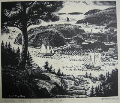 Bucks Harbor ~ Maine Coast