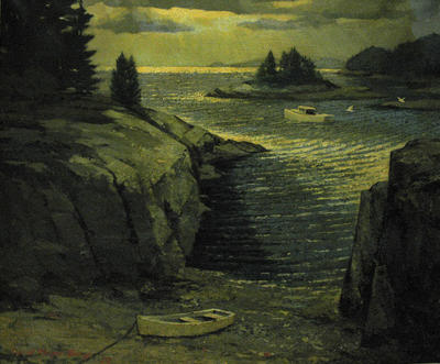 Untitled (Maine Coastal Scene)