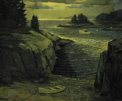 Untitled (Maine Coastal Scene)