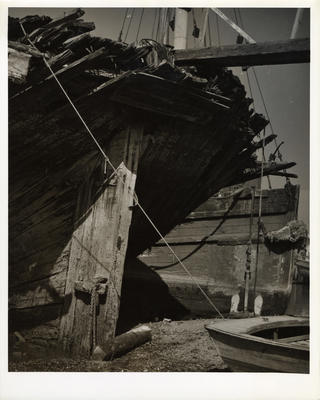 Untitled (Ship Wreckage)