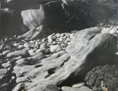 Untitled (Stones on Beach)