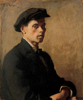 Portrait of a Man (Study in Shadows)
