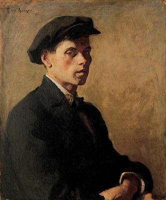 Portrait of a Man (Study in Shadows)