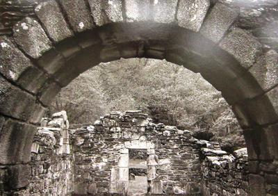 Stone Arch, Reefert Church, Glendalough, Ireland, 1993