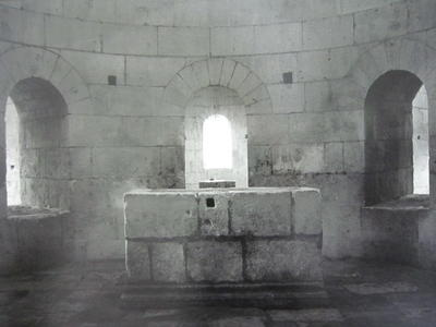 Crypt , Montmajour Abbey, France, 1987