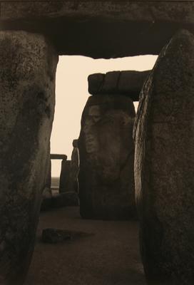 Inner Trilithon, Sunrise, Stonehenge, England