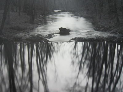 Reflecting Stream, Redding, Connecticut, 1968