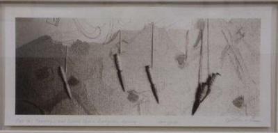 Tapestry, Carol Dunbar Studio, Buckquoy, Harray, Orkney (Odin Stone Plate 46)