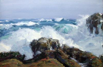 Blue Seas - Monhegan