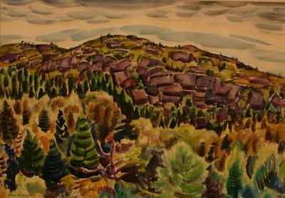 Quarried Hillside