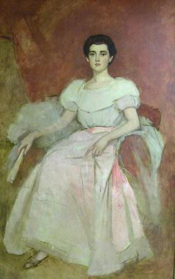 Portrait of Mrs. Philip Hinkle