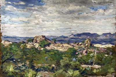 Untitled (Southwest Mountain Panorama)