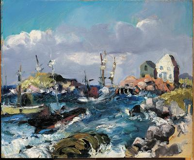A Blow at Monhegan