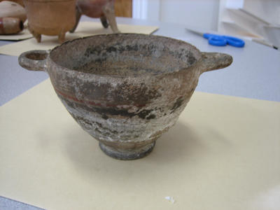 5th Century Terra Cotta Bowl