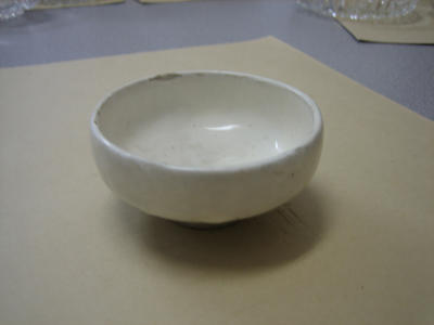 Chinese white bowl.