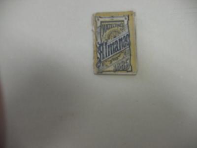 Hazeltine's Miniature Almanac