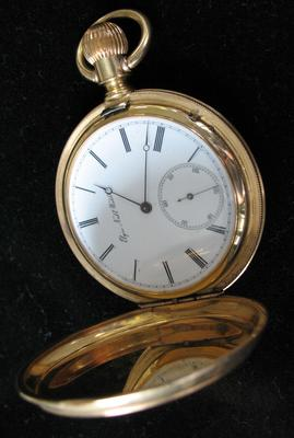 Elgin Hunter Case Gold Pocket Watch