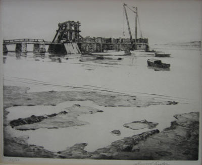 Building the Ferry Slip