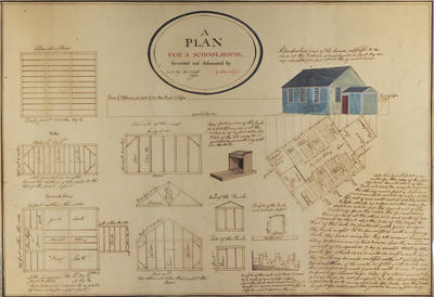 Plan of Schoolhouse