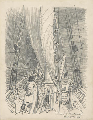 Untitled (On Deck under Sail)