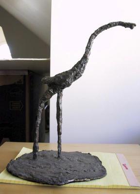 Untitled (Standing bird)