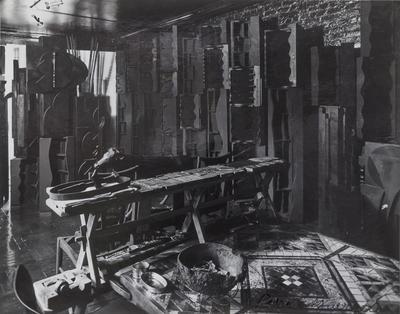 Louise Nevelson's Living Room, New York