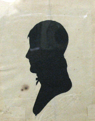 Untitled silhouette portrait