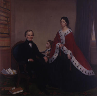 Portrait of Mr. and Mrs. Albert Livingston Kelly of Frankfort