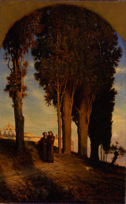 Cypress and Convent of San Miniato