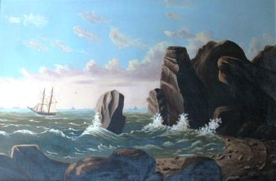 Untitled (Coastal Scene)
