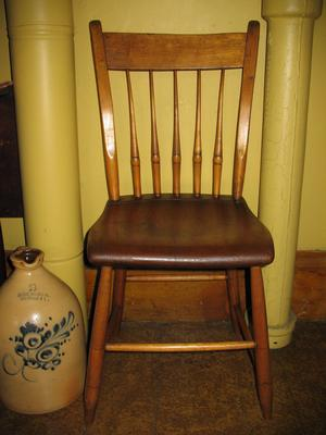 Pine Non-Factory Kitchen Chair