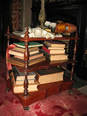Black Walnut Book Stand