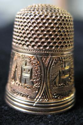 Lady's Gold Thimble