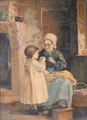 """Woman and Child"""